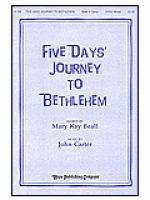 Five Days' Journey to Bethlehem Sheet Music