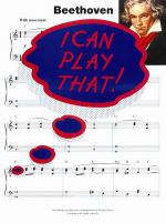 I Can Play That! Beethoven Sheet Music