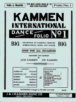 Kammen International Dance Folio No. 1: Guitar/Violin Sheet Music