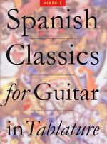 Spanish Classics for Guitar in Tablature Sheet Music