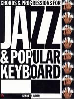 Chords & Progressions For Jazz & Popular Keyboard Sheet Music
