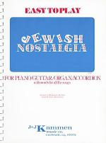 Easy-To-Play Jewish Nostalgia Sheet Music