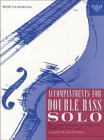 Accompaniments for Double Bass Solo Sheet Music