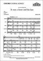 It was a lover and his lass Sheet Music