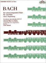 Bach for Unaccompanied Flute Sheet Music
