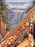 Saxophone Goes To Hollywood! Sheet Music