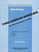 Three American Miniatures Sheet Music