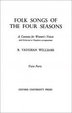 Folk Songs of the Four Seasons Sheet Music