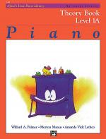 Alfred's Basic Piano Course Theory Book - Level 1A (Universal Edition) Sheet Music