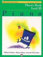 Alfred's Basic Piano Course Theory Book - Level 1B (Universal Edition) Sheet Music