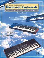Chord Approach to Electronic Keyboards Lesson Book, Book 1 Sheet Music