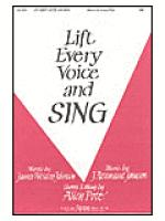 Lift Every voice and Sing Sheet Music