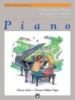 Alfred's Basic Piano Course - Composition Book Complete Level 1 (1A/1B) Sheet Music