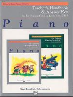 Alfred's Basic Piano Course: Ear Training Teacher's Handbook and Answer Key Complete 1-3 Sheet Music
