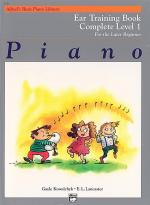 Alfred's Basic Piano Course - Ear Training Book Complete Level 1 (1A/1B) Sheet Music