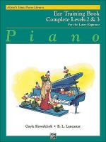 Alfred's Basic Piano Course - Ear Training Book Complete Levels 2 & 3 Sheet Music