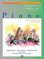 Alfred's Basic Piano Course - Ensemble Book Complete Level 1 (1A/1B) Sheet Music