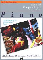 Alfred's Basic Piano Course - Fun Book Complete Level 1 (1A/1B) Sheet Music