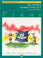 Alfred's Basic Piano Course - Recital Book Complete Levels 2 & 3 Sheet Music