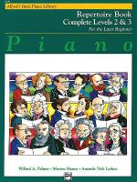 Alfred's Basic Piano Course - Repertoire Book Complete Levels 2 & 3 Sheet Music