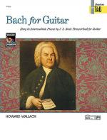 Bach for Guitar - Masters in Tab Sheet Music