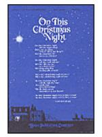 On This Christmas Night Sheet Music