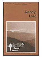 Ready, Lord Sheet Music