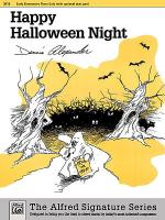 Happy Halloween Night Sheet Music