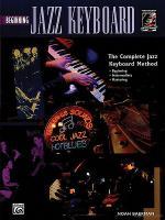 Beginning Jazz Keyboard - Book/CD Sheet Music