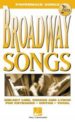 Broadway Songs Sheet Music