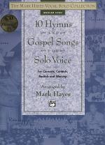 10 Hymns and Gospel Songs for Solo Voice - Medium High (Book/CD) Sheet Music