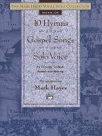 10 Hymns and Gospel Songs for Solo Voice - Medium Low (Book) Sheet Music