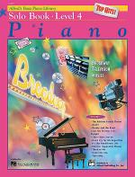 Alfred's Basic Piano Course - Top Hits! Solo Book (Level 4) Sheet Music