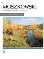 Moszkowski -- 20 Short Studies, Op. 91 Sheet Music