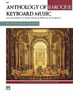Anthology of Baroque Keyboard Music Sheet Music