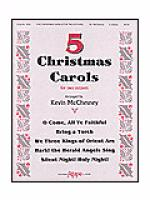 Five Christmas Carols for Two Octaves Sheet Music