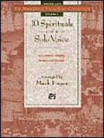 10 Spirituals for Solo Voice - Medium High (Book) Sheet Music