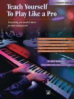 Alfred's Teach Yourself to Play Like a Pro at the Keyboard Sheet Music
