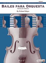 Bailes para Orquesta (For Two Solo Violins and String Orchestra) Sheet Music