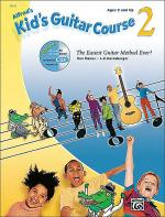 Alfred's Kid's Guitar Course 2 (Book & Enhanced Cd) Sheet Music