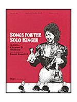 Songs for the Solo Ringer Sheet Music
