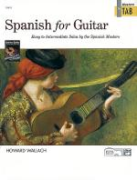Spanish for Guitar - Masters in Tab Sheet Music
