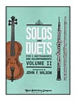 Solos and Duets - for C Instruments and Accompaniments (Volume II) Sheet Music