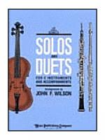 Solos and Duets - for C Instruments and Accompaniments (Volume I) Sheet Music