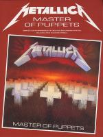 Master Of Puppets (Guitar) Sheet Music