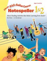 Alfred's Kid's Guitar Course:  Notespeller 1 & 2 Sheet Music