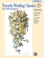 Favorite Wedding Classics for Solo Singers Sheet Music