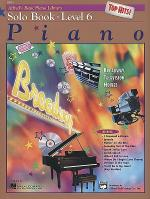 Alfred's Basic Piano Course - Top Hits! Solo Book (Level 6) Sheet Music