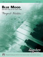 Blue Mood (for right hand or left hand alone) Sheet Music