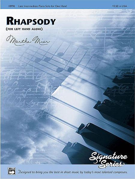 Rhapsody (for left hand alone) Sheet Music